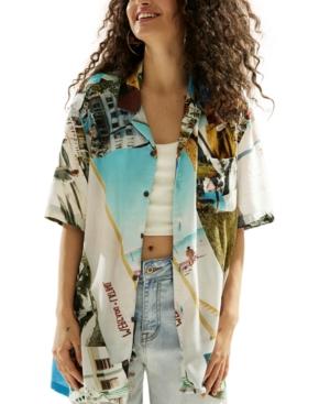 Printed Unisex South Beach Resort Shirt