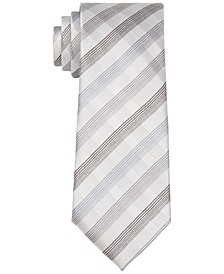 Men's Slim Tonal Truss Check Tie
