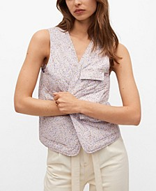 Women's Cotton Quilted Gilet