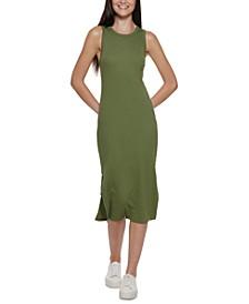 Calvin Klein Cotton Racerback Tank Dress