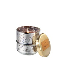 Pumpkin Spice Metallic Candle with Lid