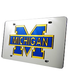 Stockdale Michigan Wolverines License Plate