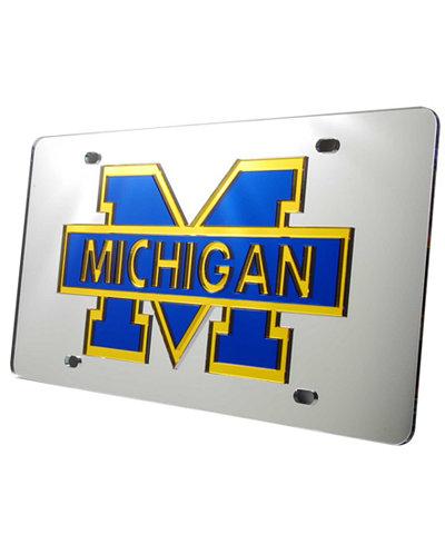 Stockdale Michigan Wolverines License Plate