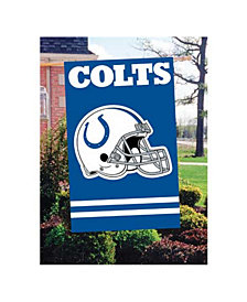 Party Animal Indianapolis Colts Applique House Flag