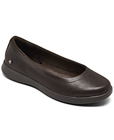 Women's On The Go Dreamy- Night Out Slip-On Skimmer Flat Casual Sneakers from Finish Line