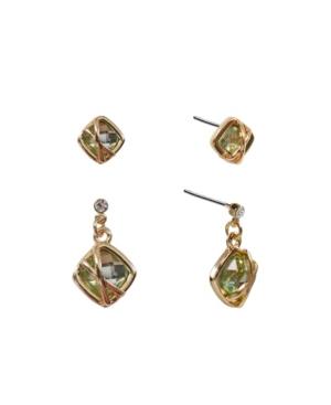 Duo Drop Earrings Set