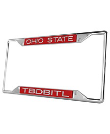 Ohio State Buckeyes Laser License Plate Frame