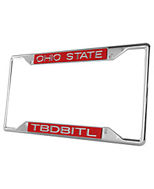 Stockdale Ohio State Buckeyes Laser License Plate Frame