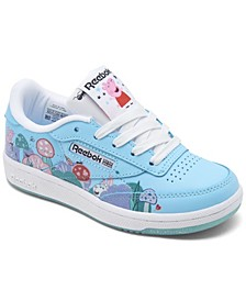Little Girls Club C Peppa Pig 2.0 Casual Sneakers from Finish Line
