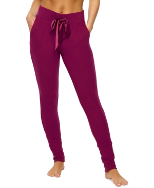 Cozy Hacci Lounge Joggers with Satin Details
