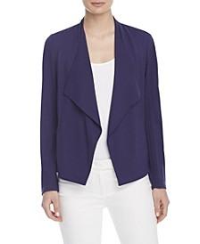 Women's Drape Front Jacket