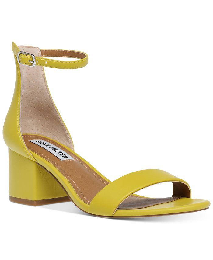 Steve Madden - Women's Irenee Two-Piece Block-Heel Sandals