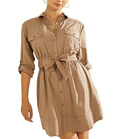 Long-Sleeve Anika Dress