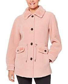 Faux-Fur Anorak Coat