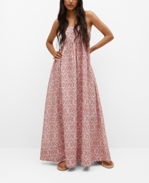 Women's Printed Cotton Dress