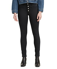 Women's 721 High-Rise Button-Fly Skinny Jeans