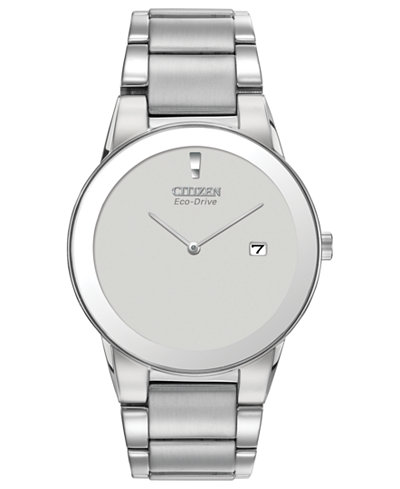 Citizen Men's Eco-Drive Axiom Stainless Steel Bracelet Watch 40mm AU1060-51A