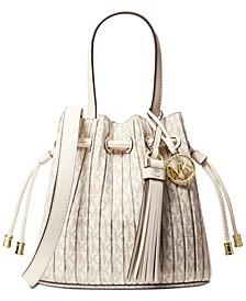 Willa Signature Extra-Small Pleated Tote Bag