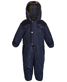 Baby Boys Front-Snap Snowsuit