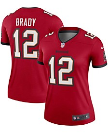 Women's Tom Brady Red Tampa Bay Buccaneers Legend Jersey