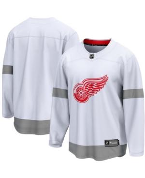 Men's White Detroit Red Wings 2020/21 Special Edition Breakaway Jersey
