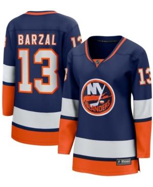 Women's Mathew Barzal Orange New York Islanders 2020/21 Special Edition Breakaway Player Jersey