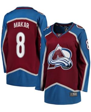 Women's Cale Makar Burgundy Colorado Avalanche Home Premier Breakaway Player Jersey