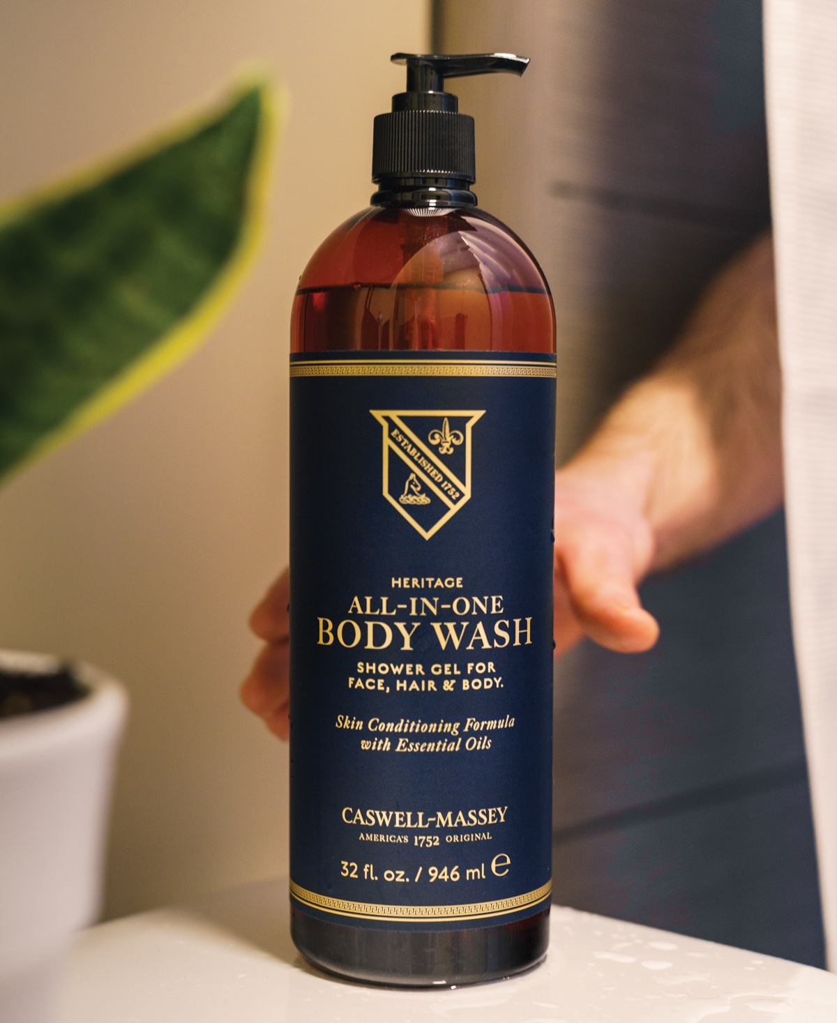Caswell Massey Heritage All-In-One Body Wash, 32-oz.