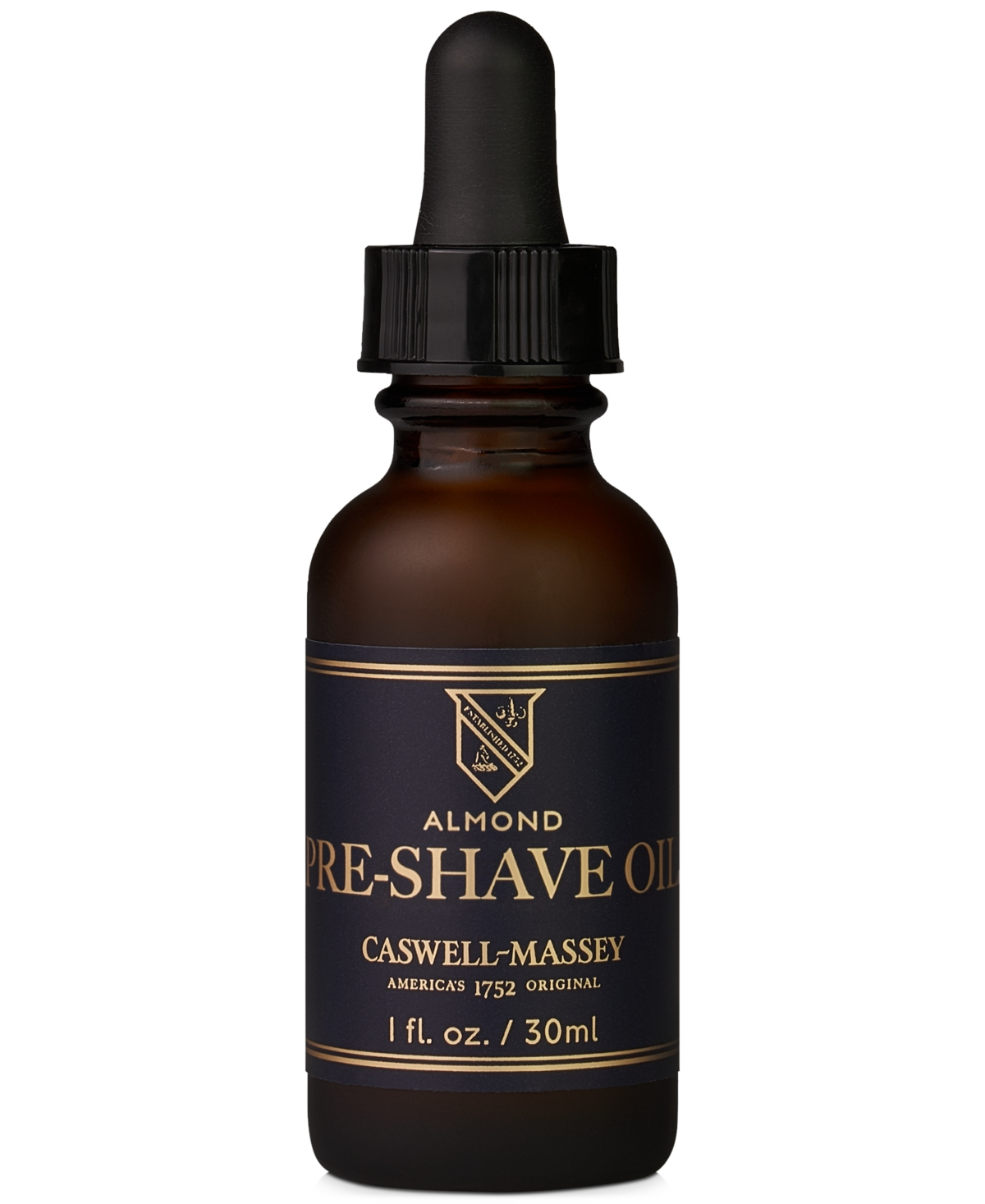Caswell Massey Heritage Almond Pre-Shave Oil, 1-oz.