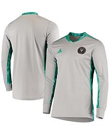 Men's Gray Inter Miami CF 2020 Goalkeeper Long Sleeve Jersey