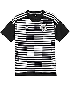 Youth Boys and Girls White and Black Germany National Team Pre-Match Training Jersey