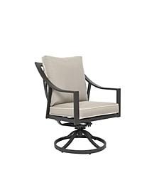Genoa Dining Swivel Rocker Chair