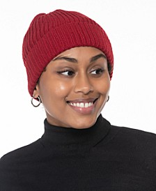 Solid Shine Cuff Beanie, Created for Macy's