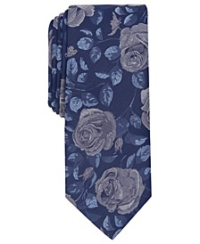 Men's Becker Floral Skinny Tie, Created for Macy's