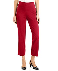 Petite Cropped Ponte Pants, Created for Macy's