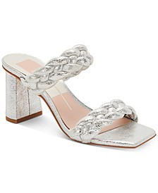 Pailey Braided Two-Band City Sandals