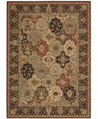 "Home Lumiere Royal Persian Tapestry Multicolor 7'9"" x 10'10"" Area Rug"