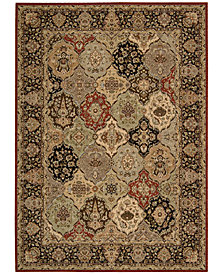 "kathy ireland Home Lumiere Persian Tapestry Multicolor 3'6"" x 5'6"" Area Rug"