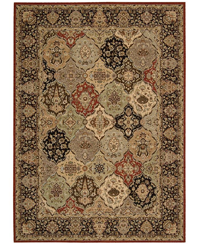 Kathy Ireland - Home Lumiere Persian Tapestry Multicolor Area Rug