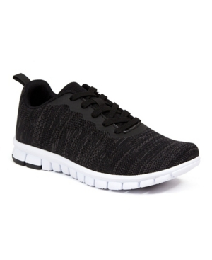 Men's NoSoX Haskell Flexible Sole Bungee Lace Up Oxford Hybrid Casual Sneakers Men's Shoes