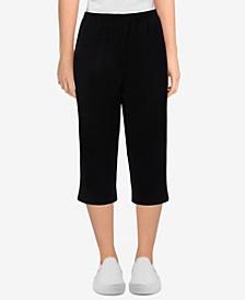 Women's Missy Easy Living Comfort Knit Capri Pants