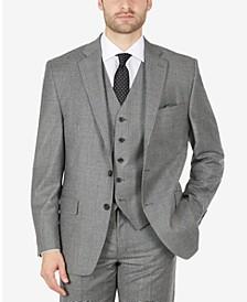 Men's Wool Flannel Classic-Fit Suit Jacket