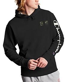Men's Fleece Logo Graphic Hoodie