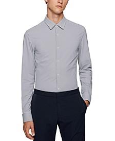 BOSS Men's Slim-Fit Pattern Shirt