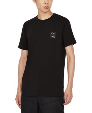 Men's Slim-Fit Small Logo Label T-Shirt