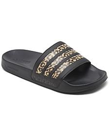 Women's Adilette Shower Slide Sandals from Finish Line