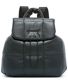 Poppy Faux Leather Backpack