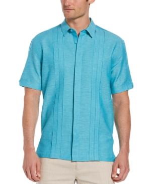 Men's Two-Tone Triple Tuck Panel Shirt