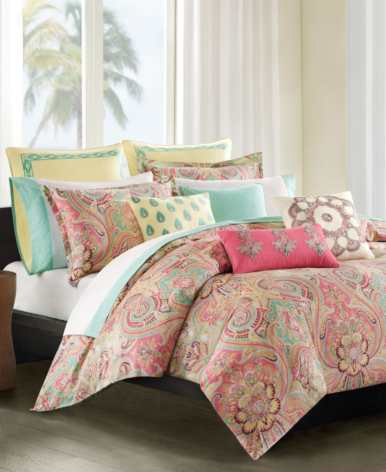 echo guinevere comforter sets - bedding collections - bed & bath