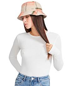 Logo Plate Brushed Bucket Hat